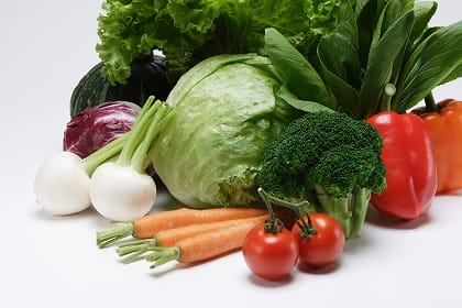 葉酸,野菜