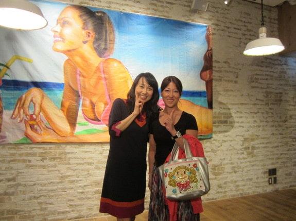 森瞳さんと東尾理子さん